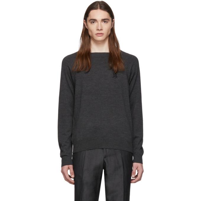 Photo: Burberry Grey Logo Sweater