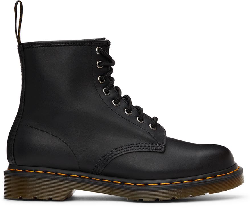 Photo: Dr. Martens Black Nappa 1460 Boots