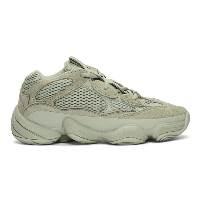 Photo: YEEZY Grey Yeezy 500 Sneakers