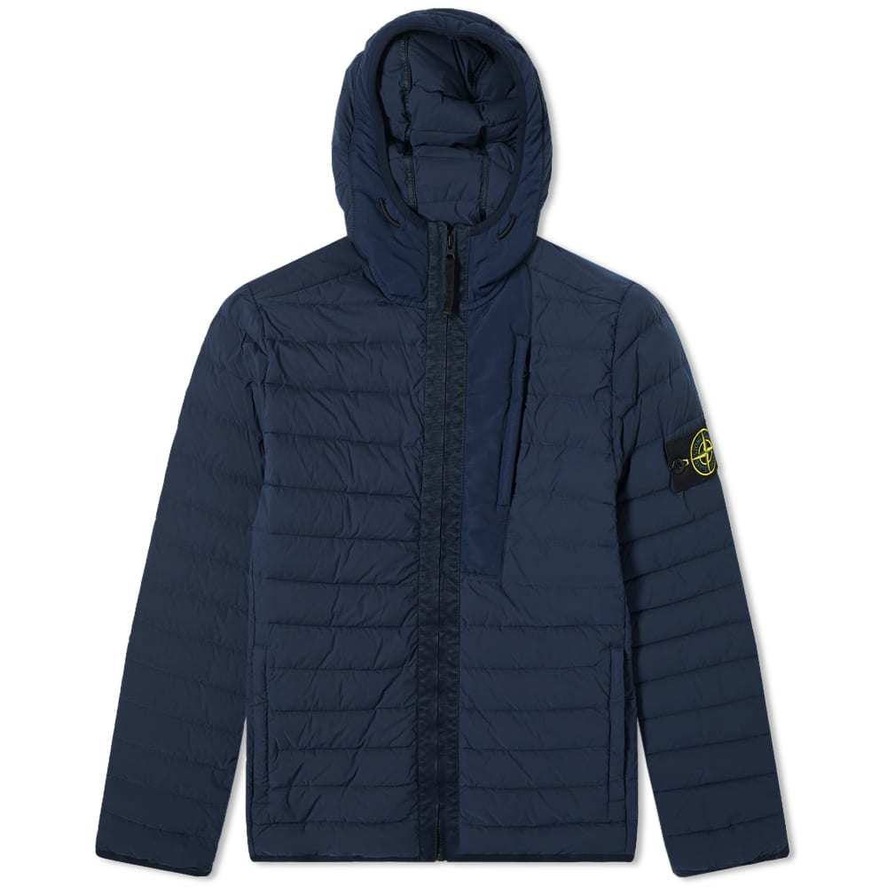 Photo: Stone Island Loom Woven Lightweight Hooded Down Jacket