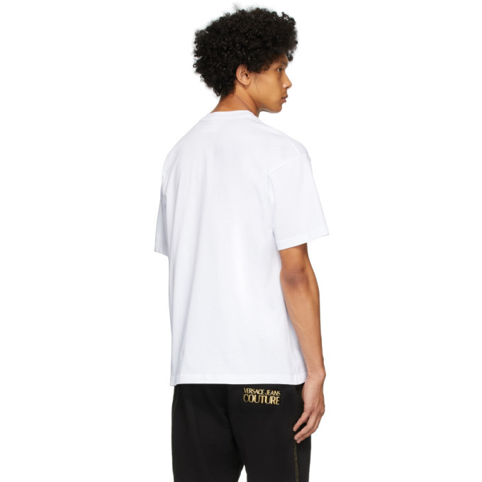 Versace Jeans Couture White Warranty Label T-Shirt