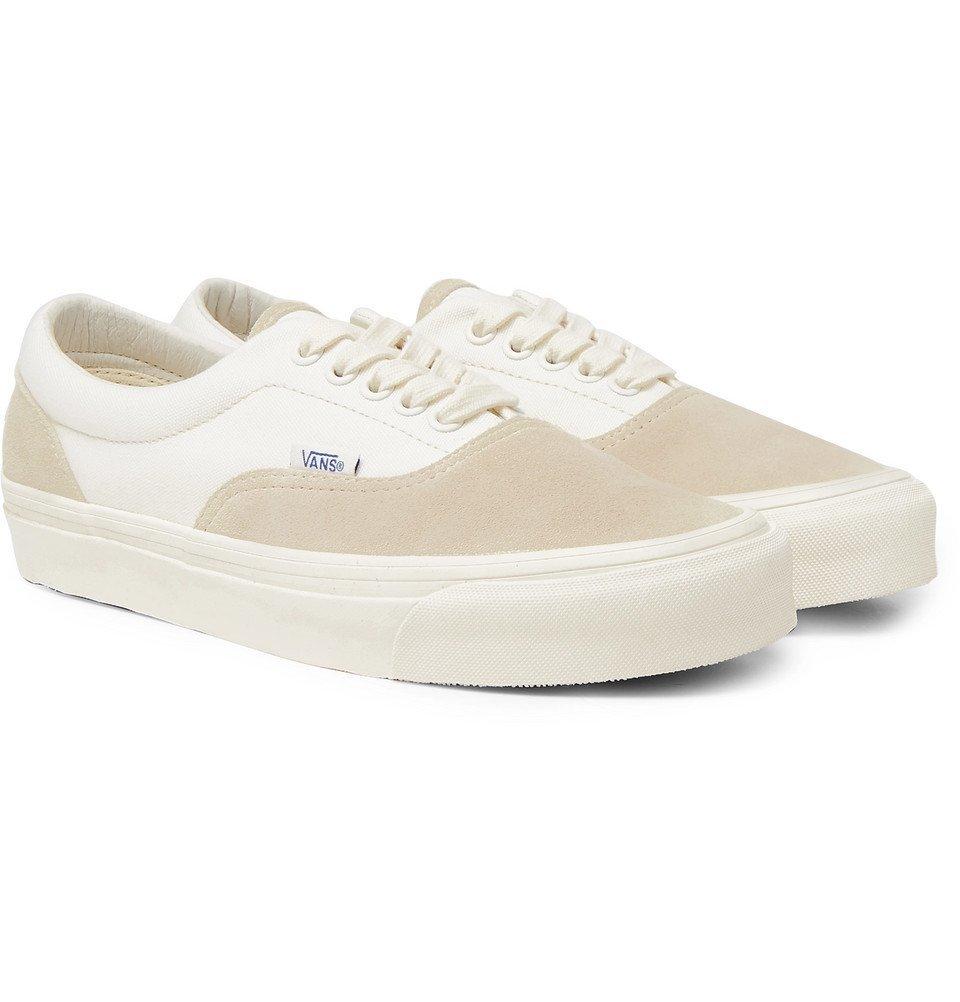 Photo: Vans - UA OG Era LX Canvas and Suede Sneakers - Beige