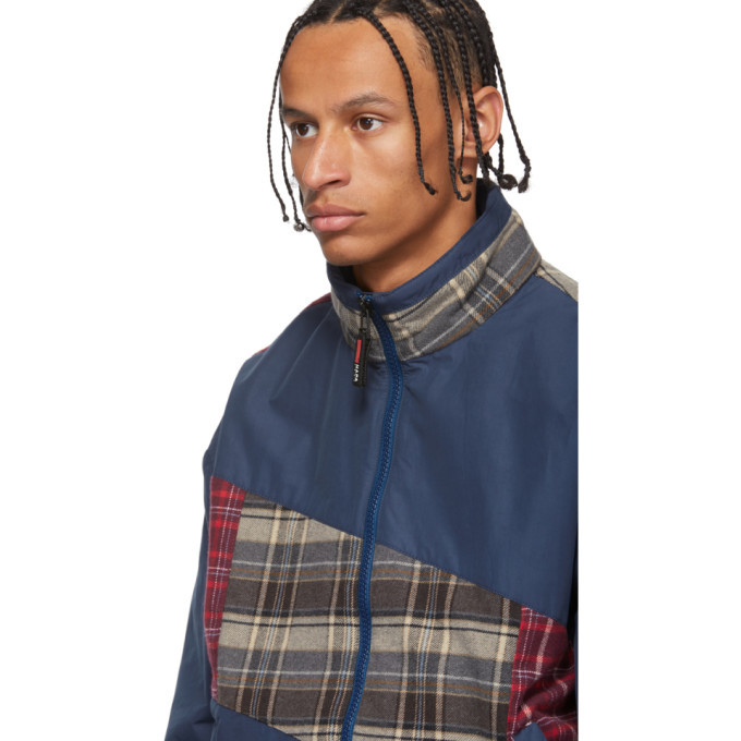 NAPA by Martine Rose Blue Check Stewart Jacket
