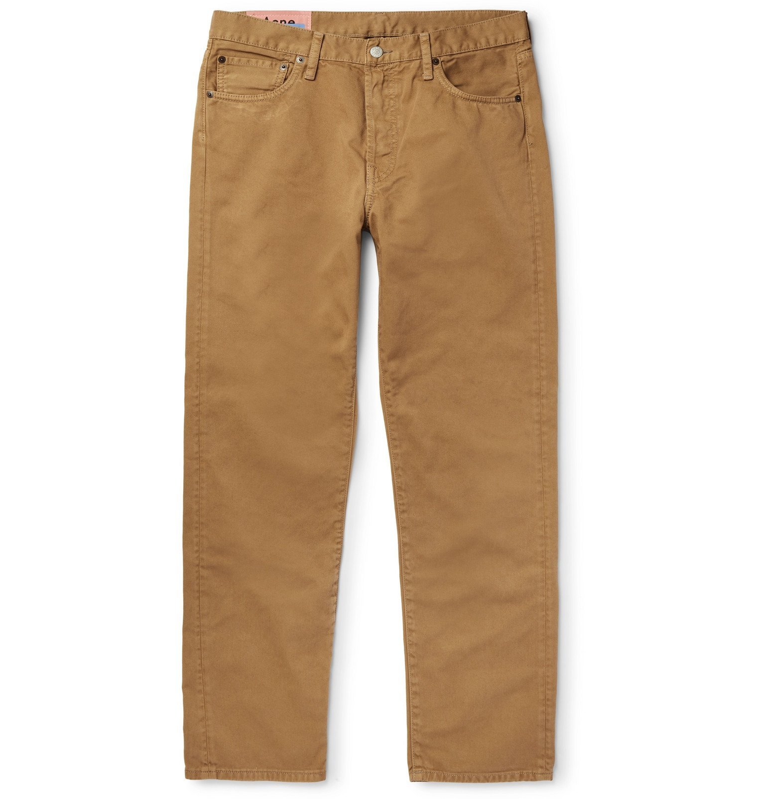 Photo: Acne Studios - Slim-Fit Denim Jeans - Brown
