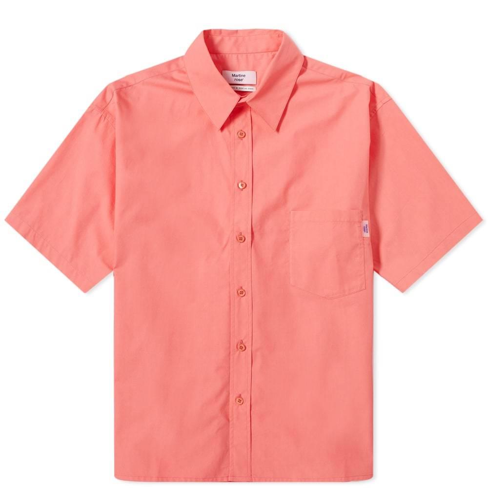 Photo: Martine Rose Short Sleeve Logo Tab Shirt