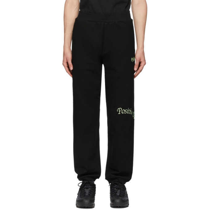 Photo: Perks and Mini Black Positive Messages Lounge Pants
