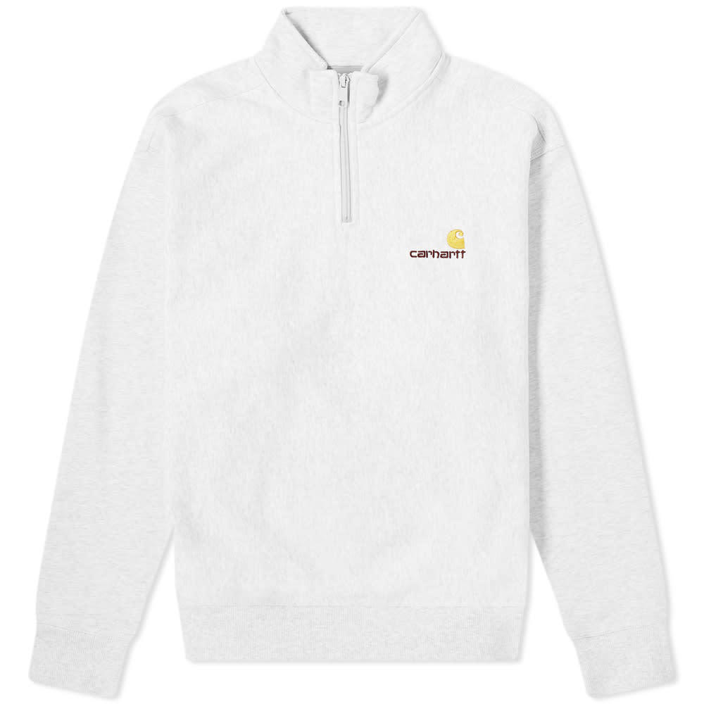 Photo: Carhartt Half Zip American Script Sweat