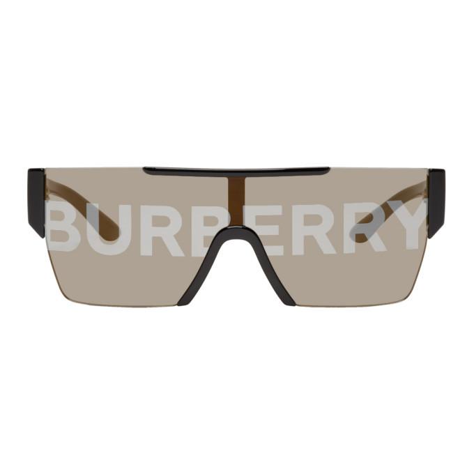 Photo: Burberry Black Logo Sunglasses