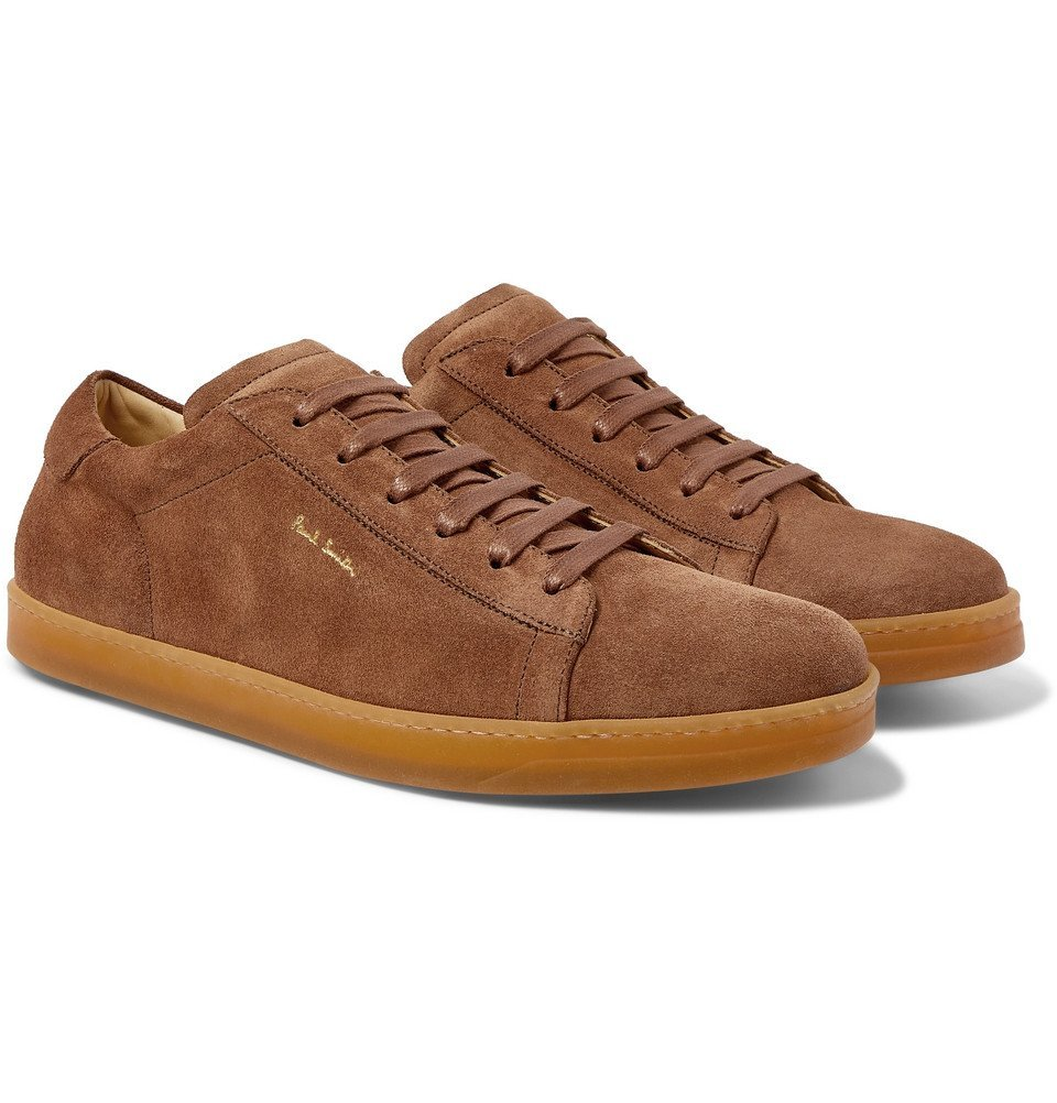 Photo: Paul Smith - Huxley Suede Sneakers - Brown