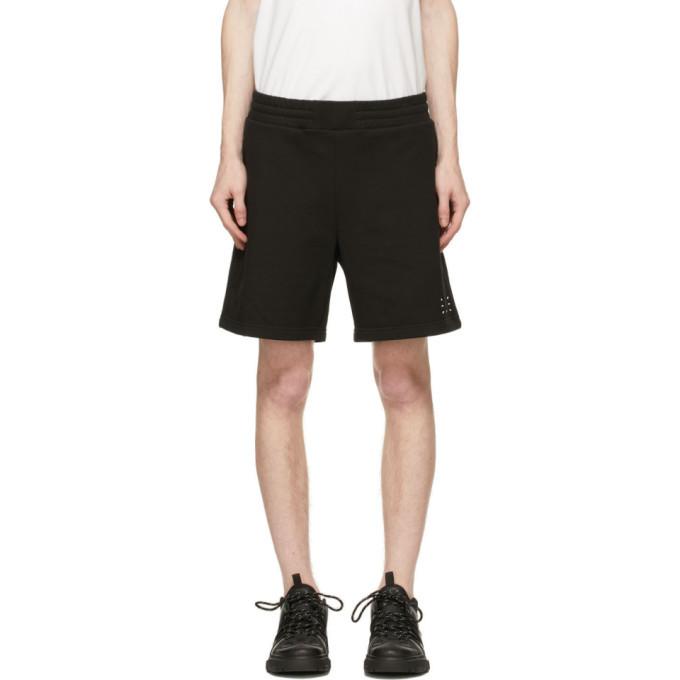 MCQ Black Logo Shorts