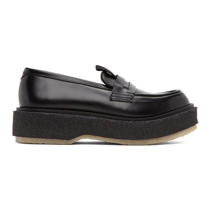 Photo: Etudes Black Adieu Edition Type 143 Loafers