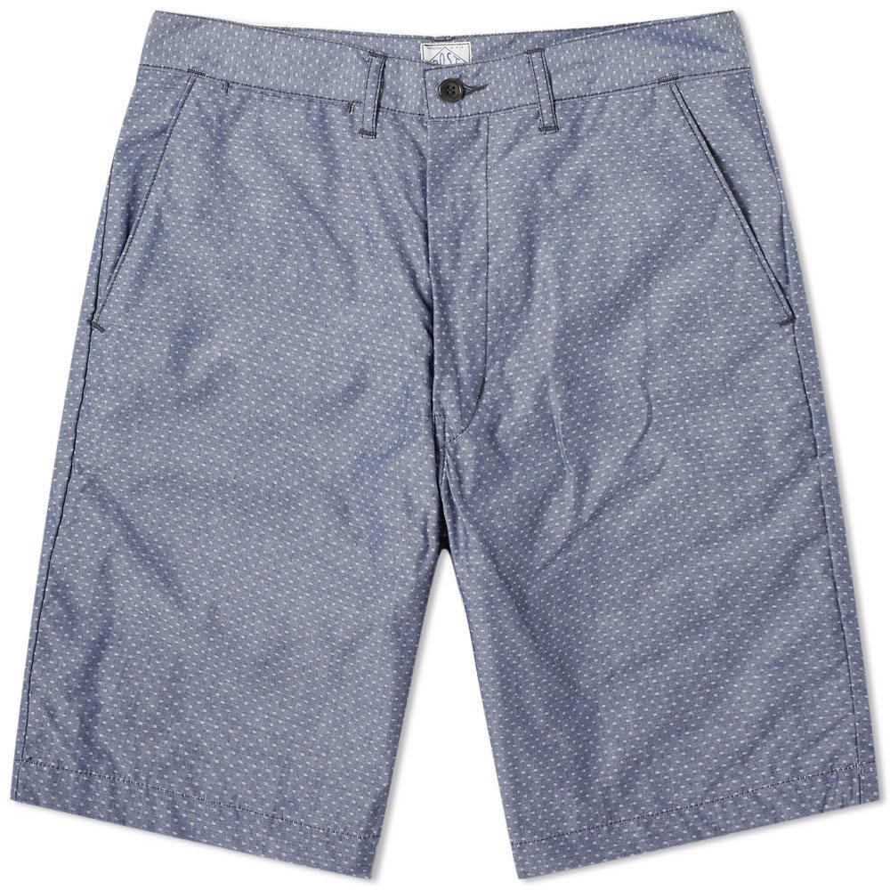 Photo: Post Overalls Cruz Chambray Shorts