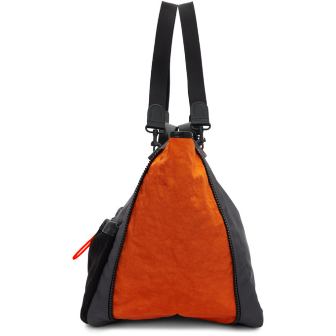 JW Anderson Grey and Orange Nylon Tote