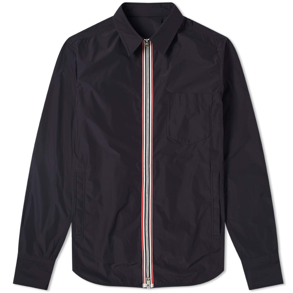Photo: Moncler Maxville Tricolour Zip Shirt Jacket