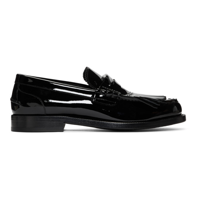 Photo: Burberry Black Bedmore Loafers