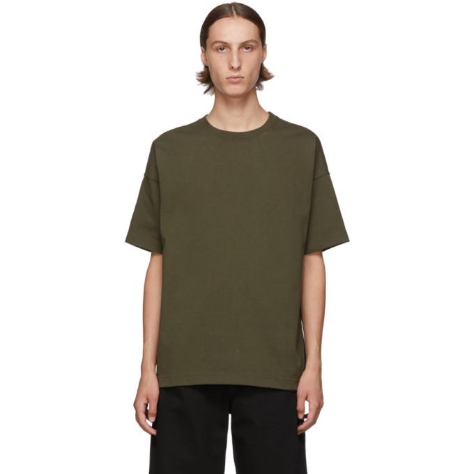 Photo: Bottega Veneta Green Boxy T-Shirt
