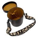 Stella McCartney Black Logo Bucket Bag