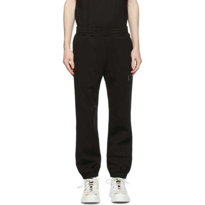 MCQ Black Logo Lounge Pants