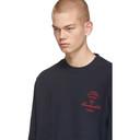 Raf Simons Navy Xanthophobic Sweatshirt
