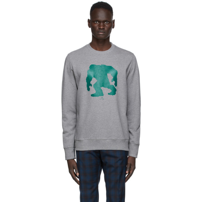 Photo: PS by Paul Smith Grey Yeti Sweatshirt