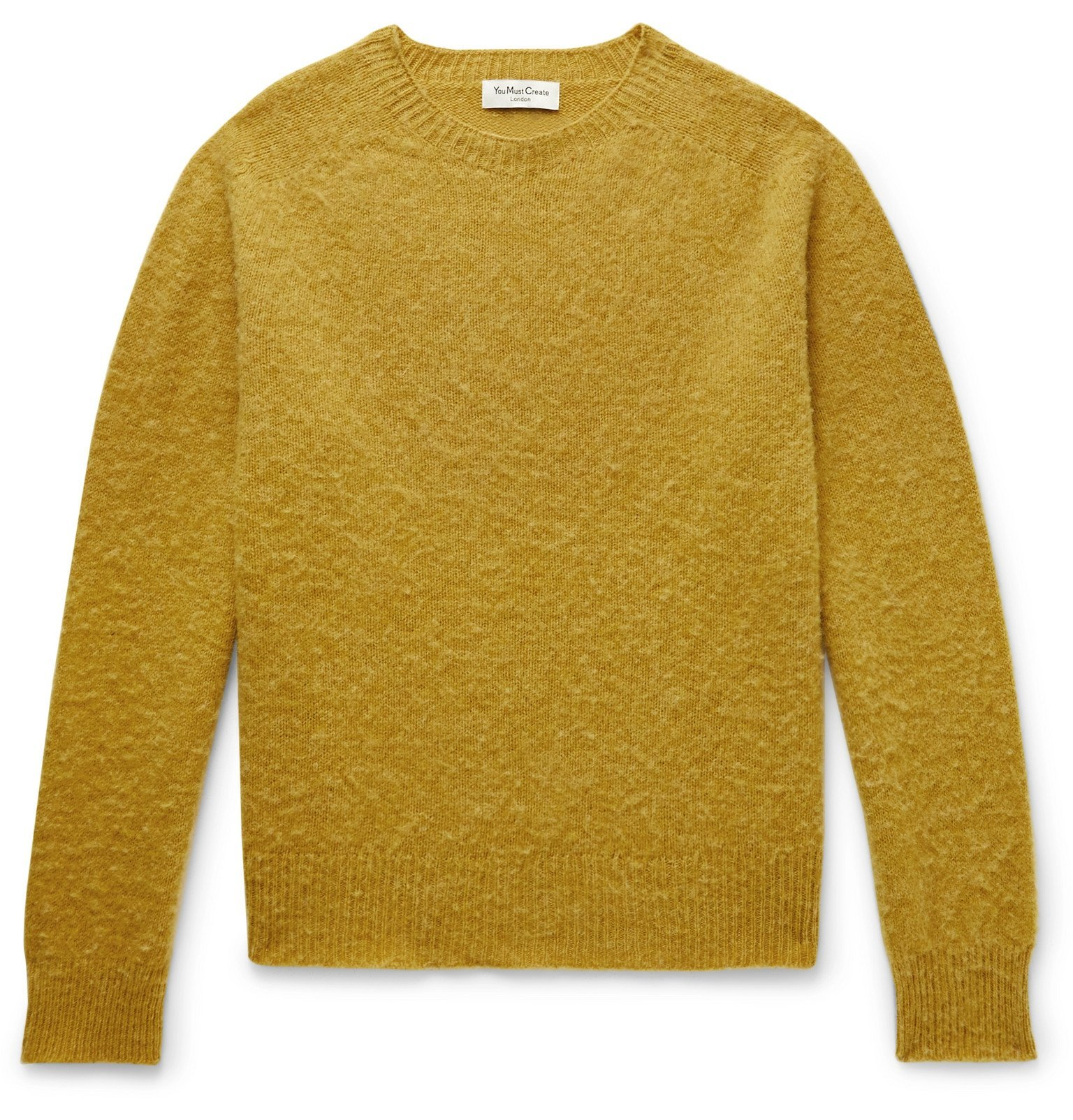 Photo: YMC - Spinners Wool Sweater - Yellow