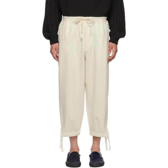 Photo: Kuro Off-White Loose Denim Easy Trousers