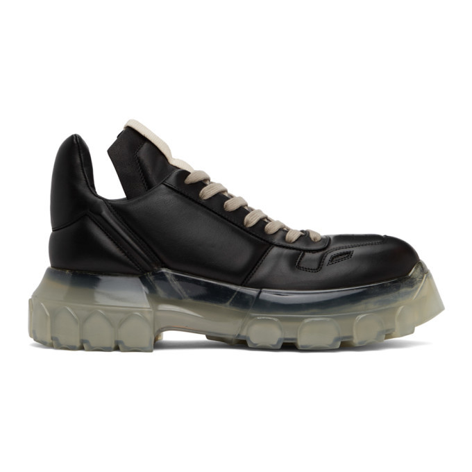 Photo: Rick Owens Black Maximal Tractor Sneakers