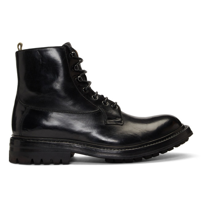Photo: Officine Creative Black Exeter 4 Boots