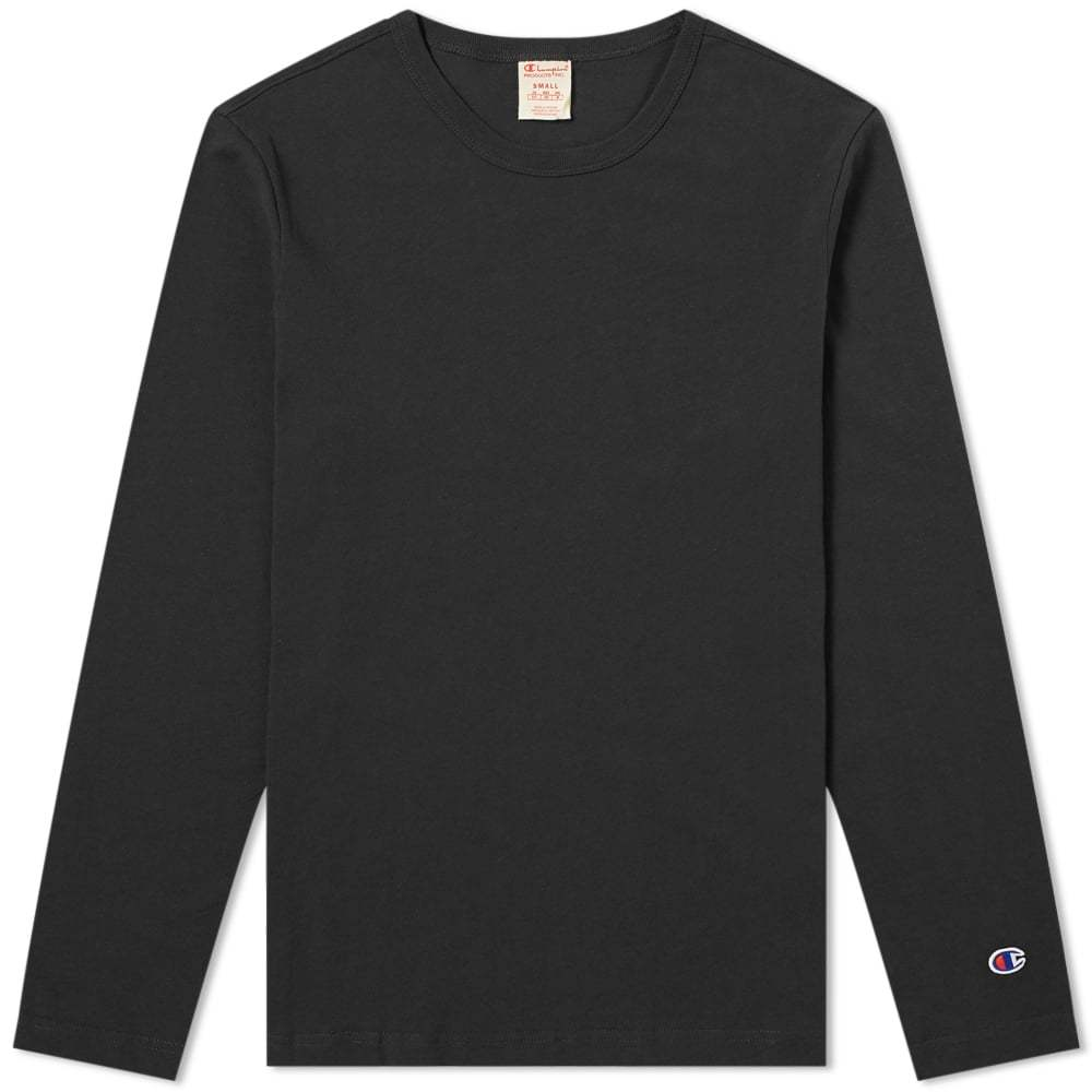 Photo: Champion Reverse Weave Long Sleeve Classic Tee