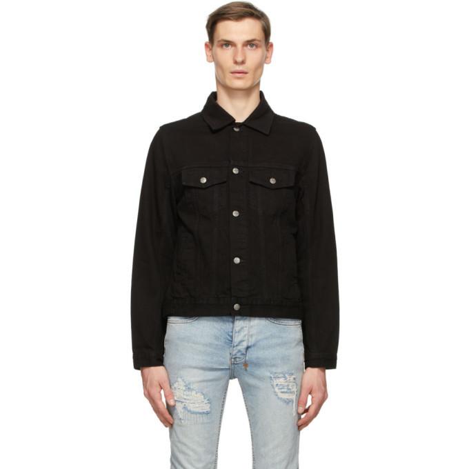 Photo: Ksubi Black Denim Classic Jacket