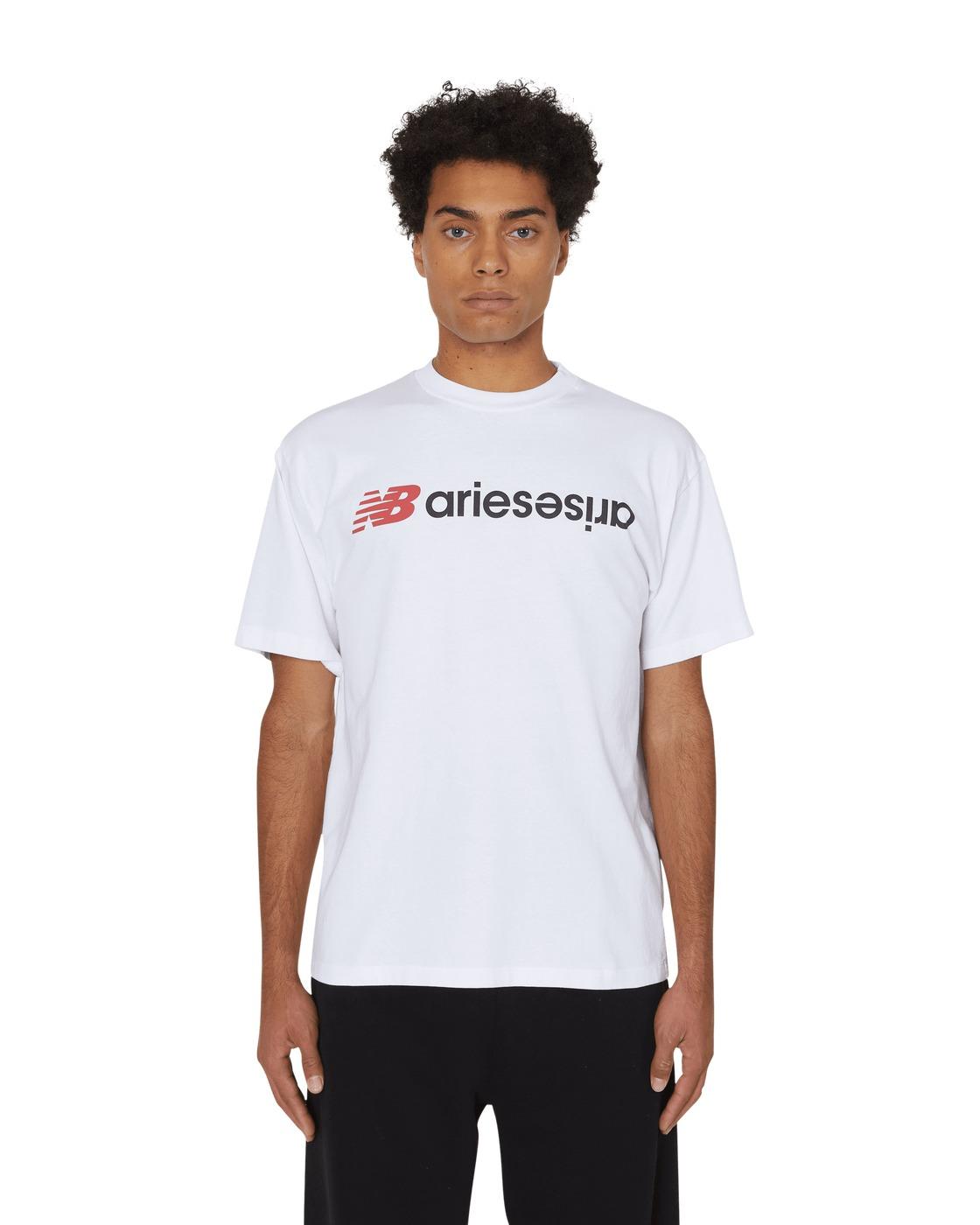 Aries Aries Arise T Shirt White