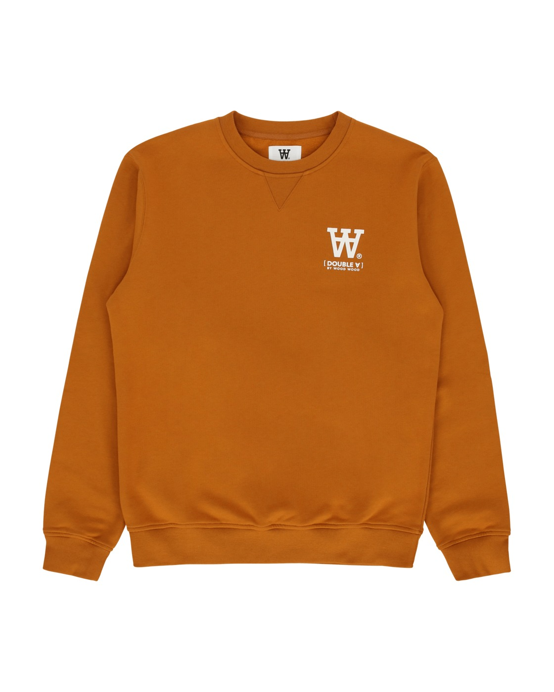 Photo: Wood Wood Tye Crewneck Sweatshirt Camel