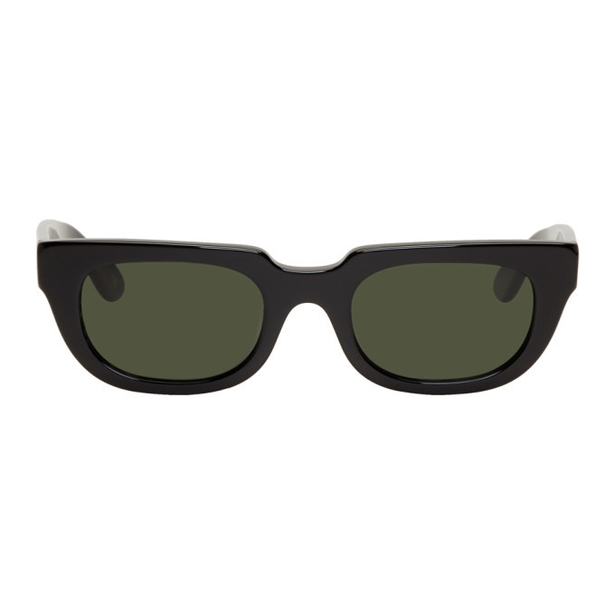 Photo: Han Kjobenhavn Black and Green Root Sunglasses