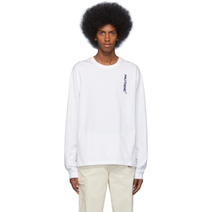 Photo: Polythene* Optics White Logo Long Sleeve T-Shirt