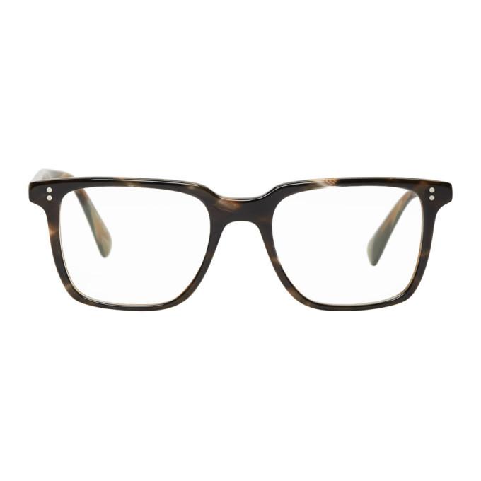 Oliver Peoples Tortoiseshell Lachman Glasses