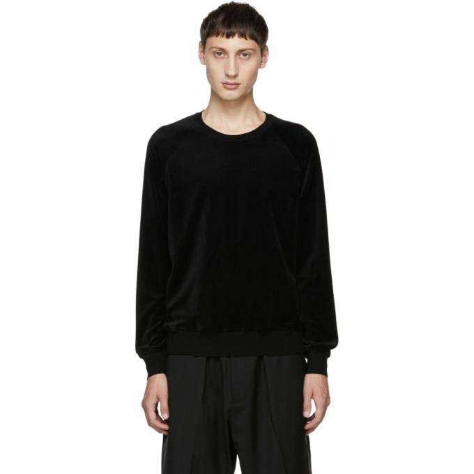 Photo: 3.1 Phillip Lim Black Classic Velour Sweatshirt