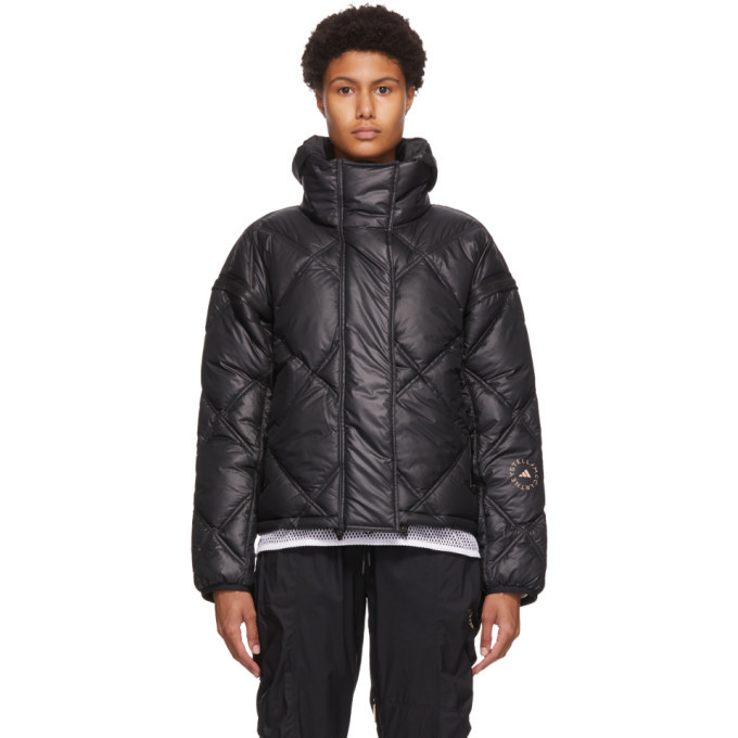 Photo: adidas by Stella McCartney Black Short Padded Jacket