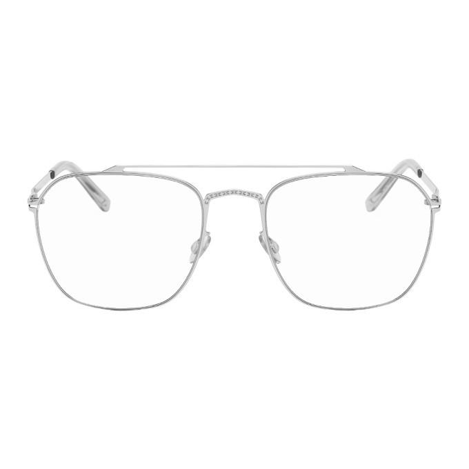Photo: Maison Margiela Silver Mykita Edition MMCRAFT006 Glasses