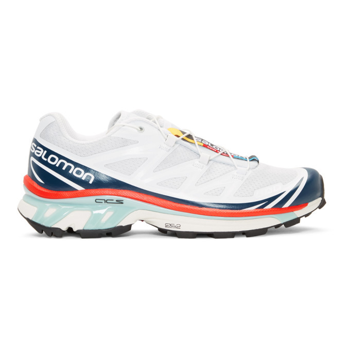 Photo: Salomon Blue and Red S/Lab XT-6 Softground LT ADV Sneakers