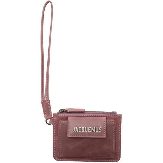 Photo: Jacquemus Purple Le Porte Olive Wallet