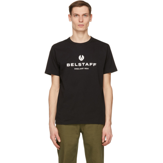 Photo: Belstaff Black 1924 T-Shirt