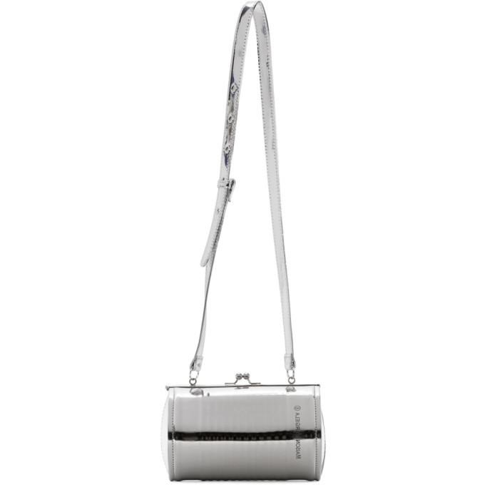 Photo: MM6 Maison Margiela Silver Patent Can Bag