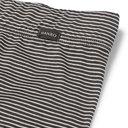 Hanro - Striped Mercerised Cotton Boxer Briefs - Black