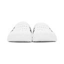 adidas Originals White Adilette Clog Sandals