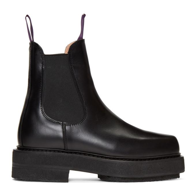 Photo: Eytys Black Ortega Chelsea Boots