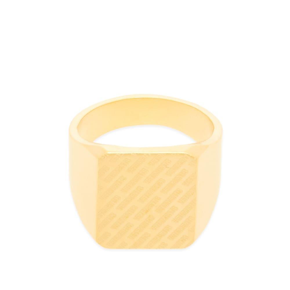 Photo: VETEMENTS New Logo Ring