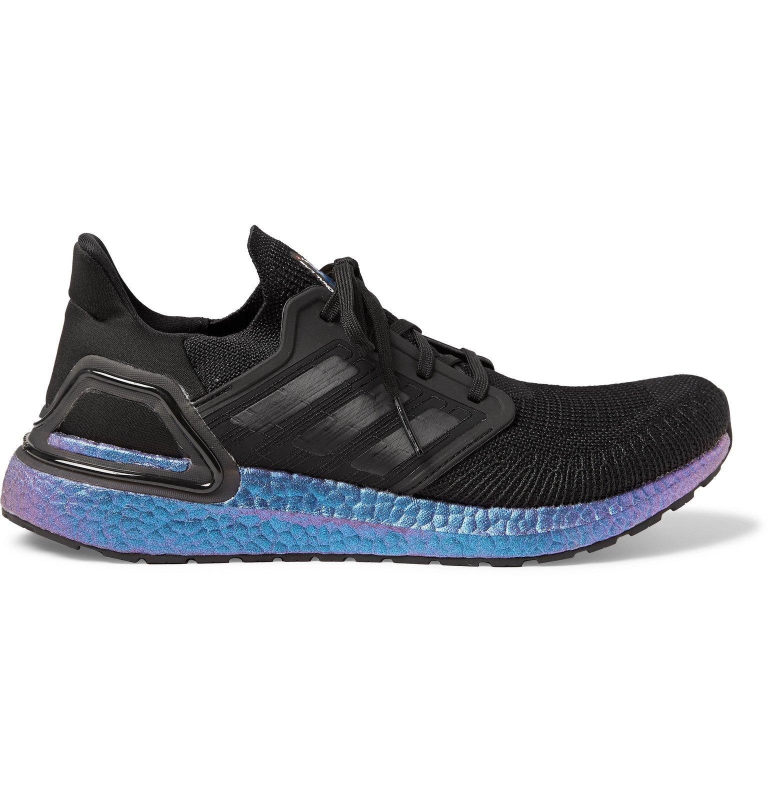Photo: Adidas Sport - ISS National Lab UltraBOOST 20 Primeknit Running Sneakers - Black