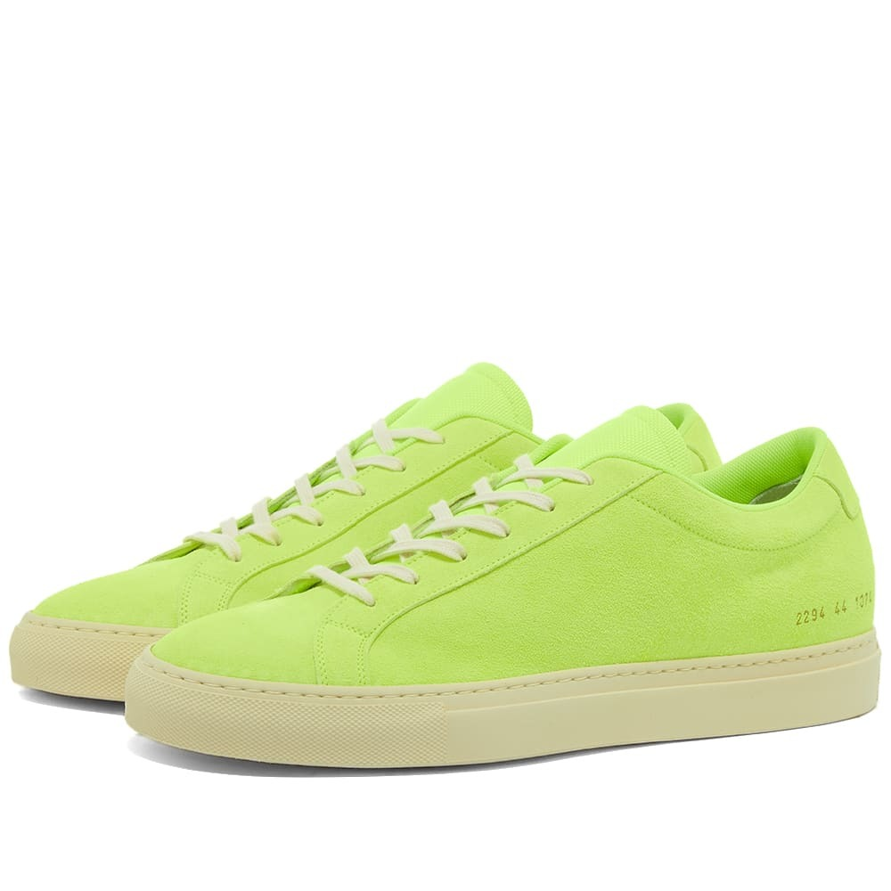 Photo: Common Projects Achilles Fluo