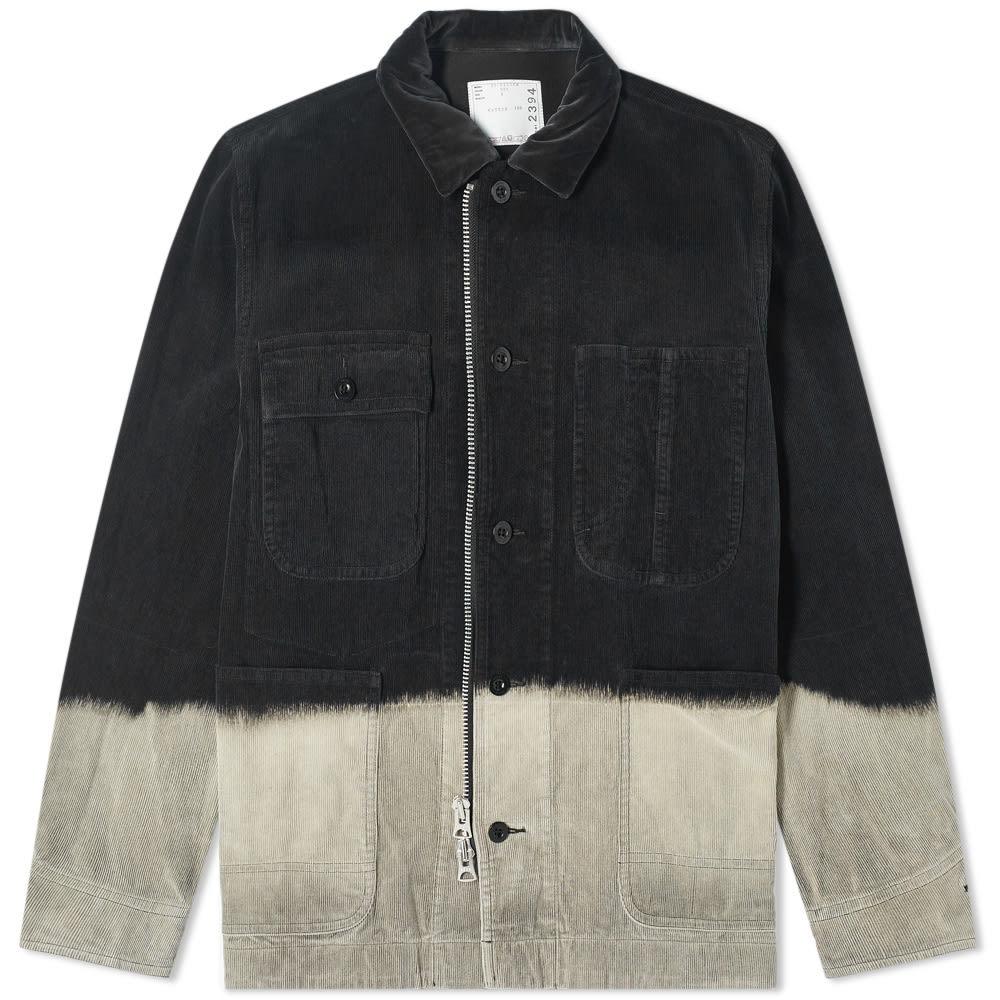 Sacai Dip Dye Corduroy Jacket