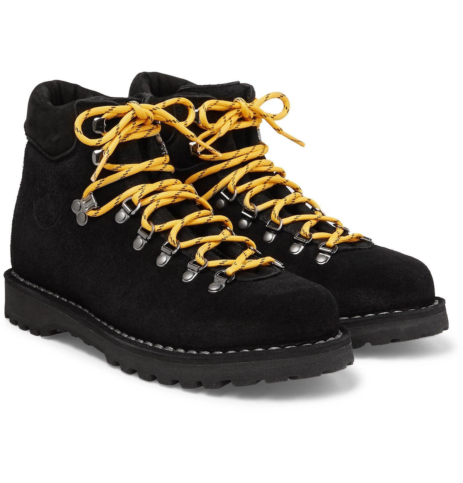 Photo: Diemme - Roccio Vet Shearling-Lined Suede Boots - Black